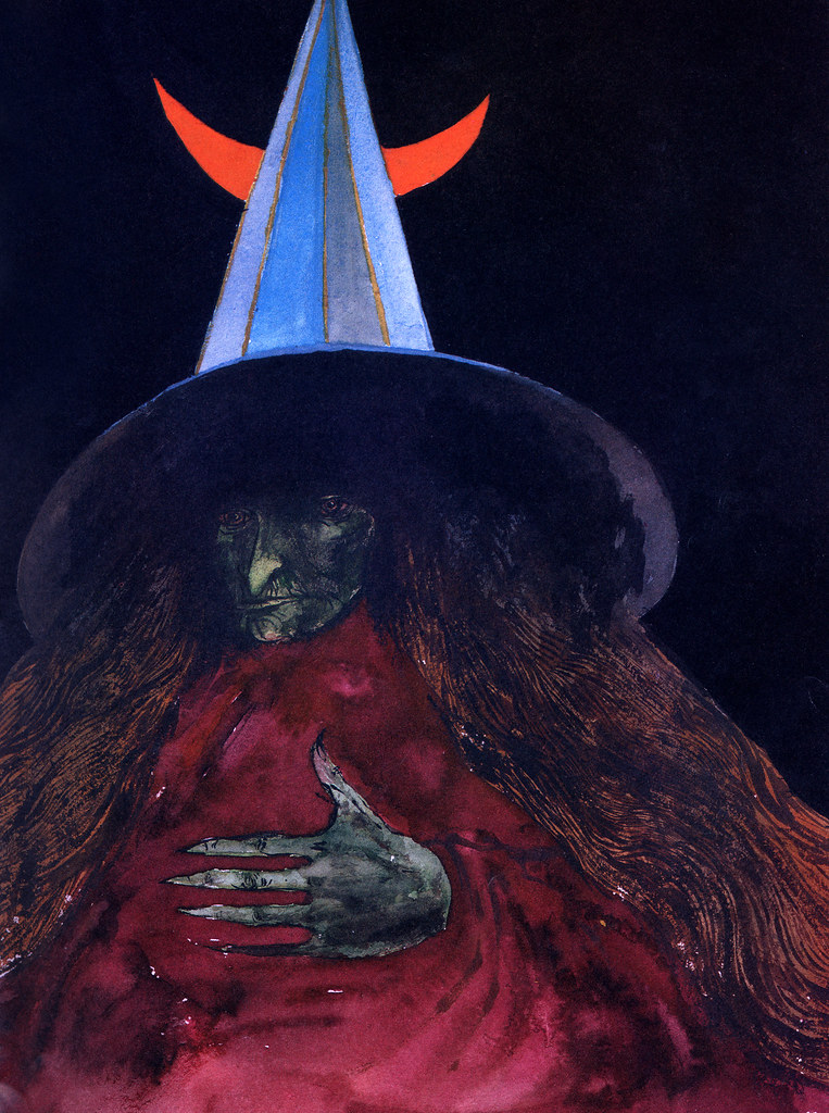 Leonard Baskin - The WIcked Witch Of The West