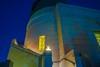 atomic_c2015.02.06_Blue+GoldNightTime_GriffithObservatory_toTheTelescope_6016x4016_DSC_0850