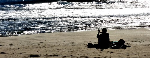 Benidorm Beach Contrast #dailyshoot # Benidorm