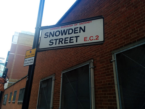 Snowden Street, Hackney, London, UK