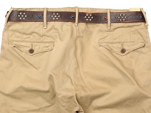 RRL / Leather Rasco Belt