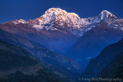 nepal color beautiful horizontal landscape dawn colorful asia outdoor scenic annapurnacircuit annapurna himalayas breathtaking gandaki annapurnasouth landruk annapurnaconservationarea landuruk