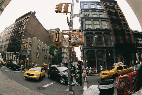 Улицы Сохо. Нью-Йорк. Soho. New York. USA