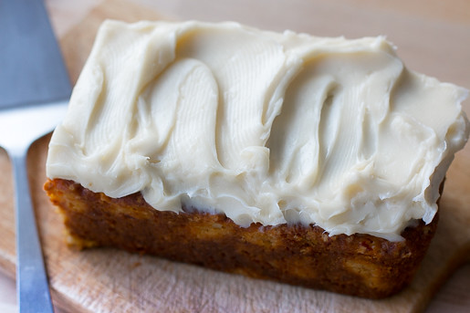 Sweet Potato and Apricot Cake with Cream Cheese Frosting