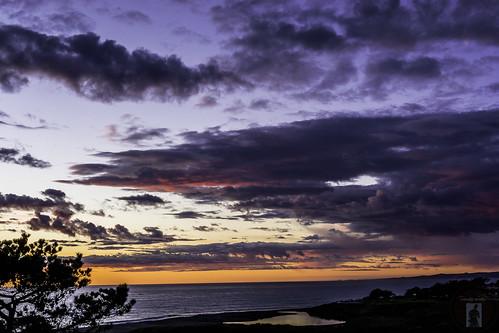 california trees sunset sea sky panorama sun seascape reflection clouds photography coast sand surf lagoon highway1 coastline sansimeon hearstcastle cambria parkhill moonstonebeach pointpiedrasblancas californiacentralcoast cambriaca sansimeoncove cambriapinesbythesea santarosaestuary santarosacreekestuary