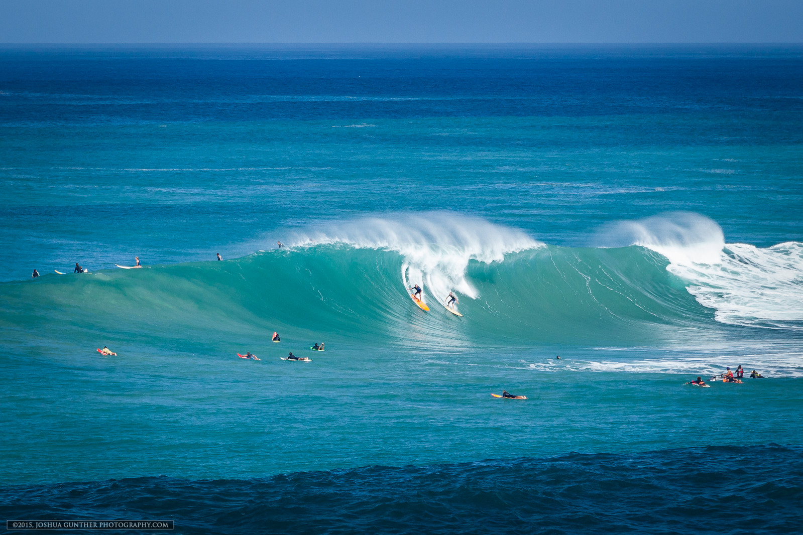 Waimea Party Wave - January 2015