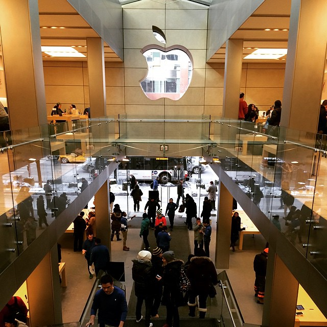 Apple Store, North Michigan Avenue, Chicago