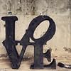 LOVE in black #art #laneomudejar #madrid #love #sculpture