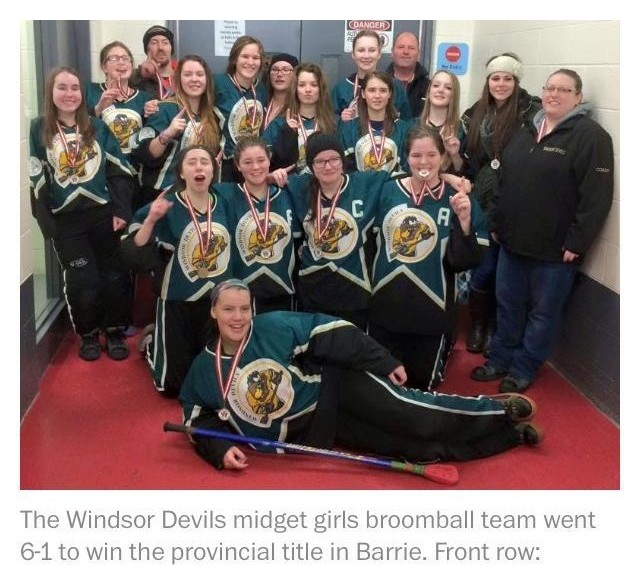 WINDSOR DEVILS - MIDGET GIRLS
