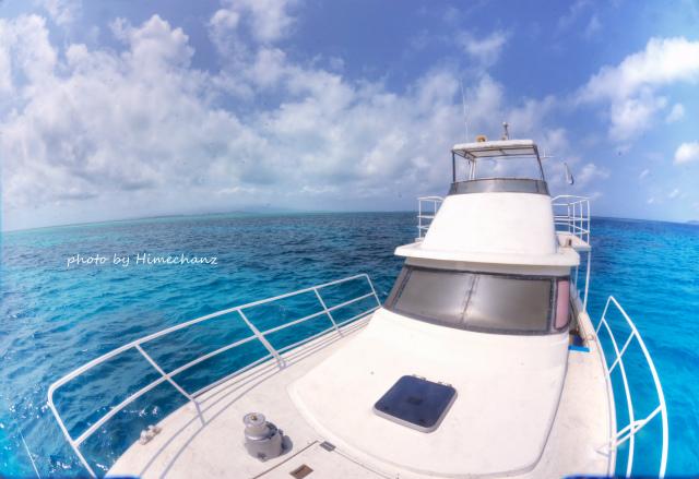 今日も青い空、青い海♪