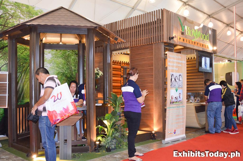 Biowood Philippines Tradeshow Stand