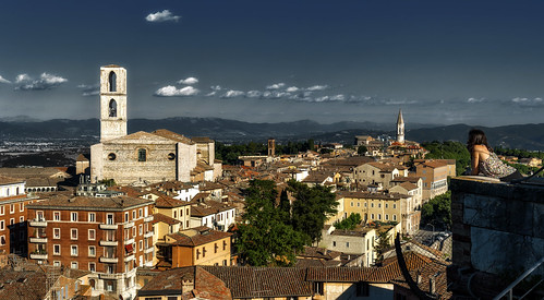 guardando Perugia...