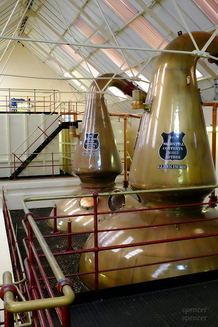 distillery at Glenkinchie