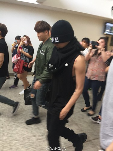 Big Bang - Melbourne Airport - 20oct2015 - _WeNGagA_ - 01