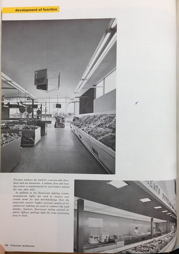 Interior views of Burien Tradewell, 1957