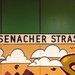 Eisenacher Strasse. U7. Berlin U-Bahn. (with graffiti)