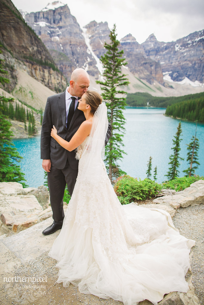 After Wedding Session - Moraine Lake