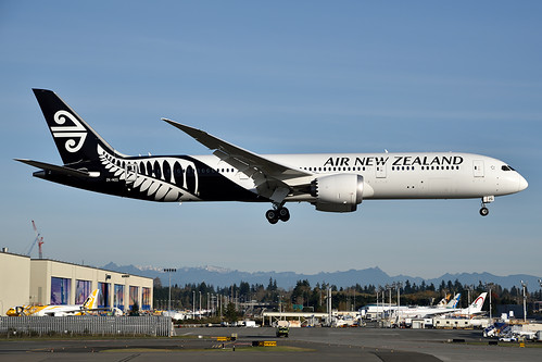 Air New Zealand Boeing 787-9 ZK-NZG