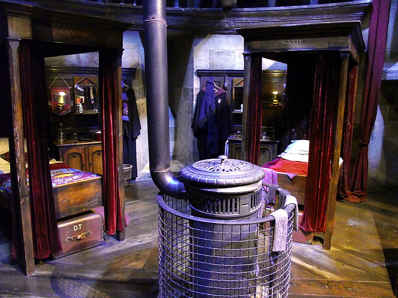 Dormitory - the Harry Potter Exhibition