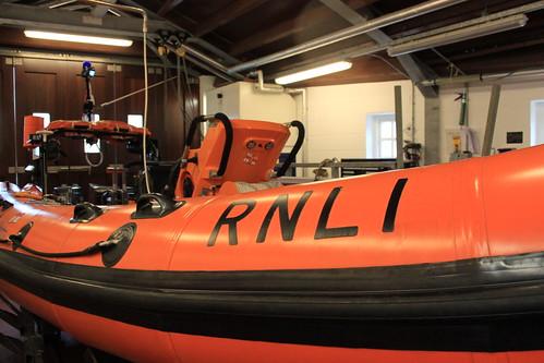 Salcombe's Atlantic 75 class inshore lifeboat 'Joan Bate'