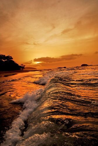 #Travel Superb Sunset, Venezuela...