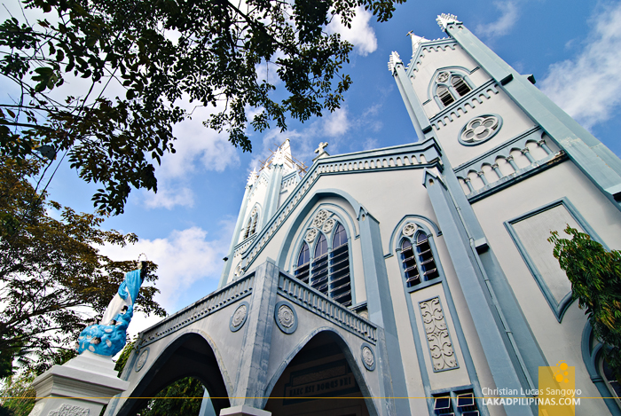 The Neo Gothic Puerto Princesa Cathedral in Palawan