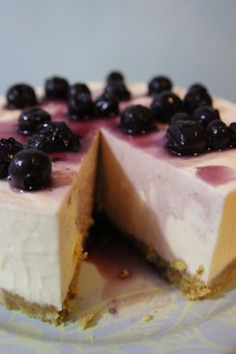 Cheese Cake w/blueberry