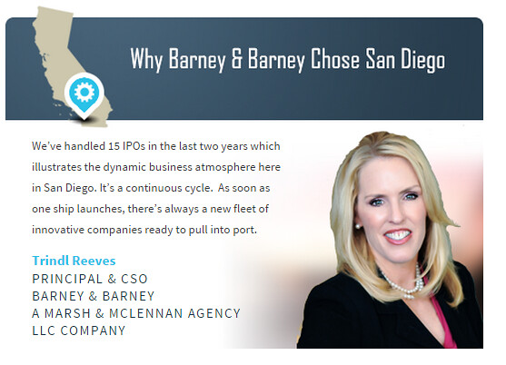 WHy Barney and Barney chose SD