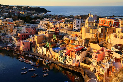 On the island of Procida, Italy