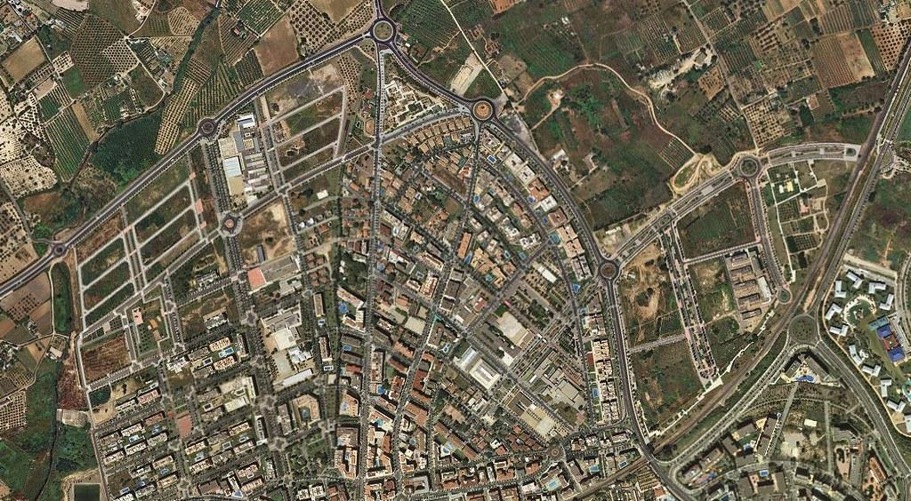 salou, tarragona, saltwhere, después, urbanismo, planeamiento, urbano, desastre, urbanístico, construcción, rotondas, carretera