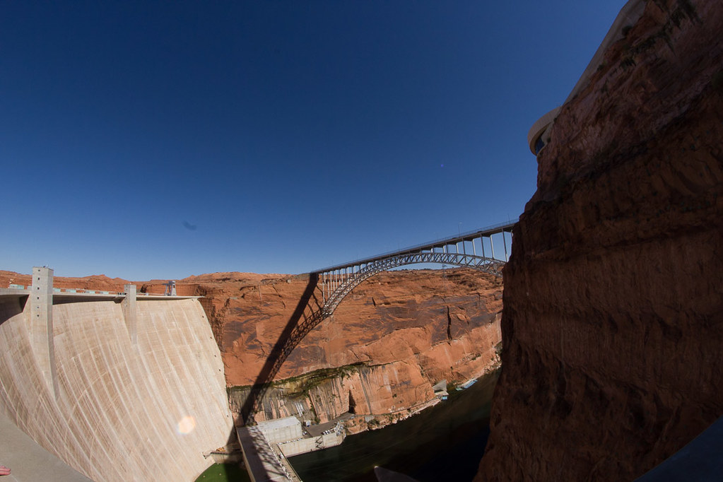 Bridge at Glen Canyon Dam