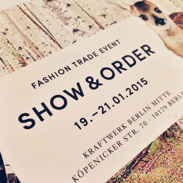 Show & Order AW15 Invite I www.StylebyCharlotte.com