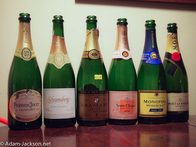 Champagne Tasting with Friends