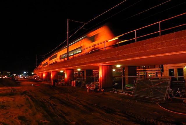20150222 Delft - de laatste treinen bovengronds, IC2593