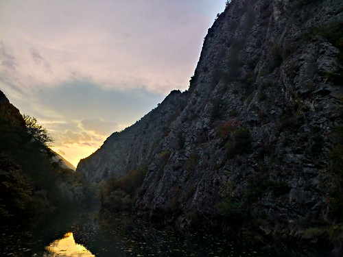 sunset macedonia hdr skopje