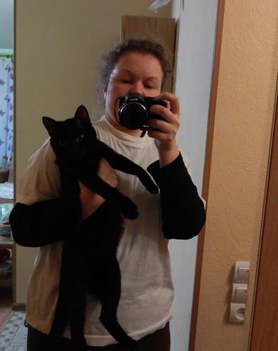 я и чёрный кот Чернозём
