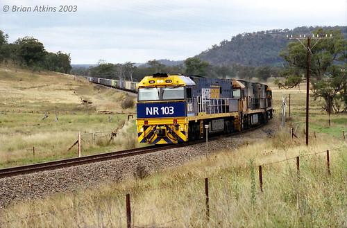 NR103 NR24 NR25 Wollar  6BA6 7.6.03