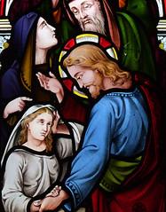 The raising of Jairus's daughter