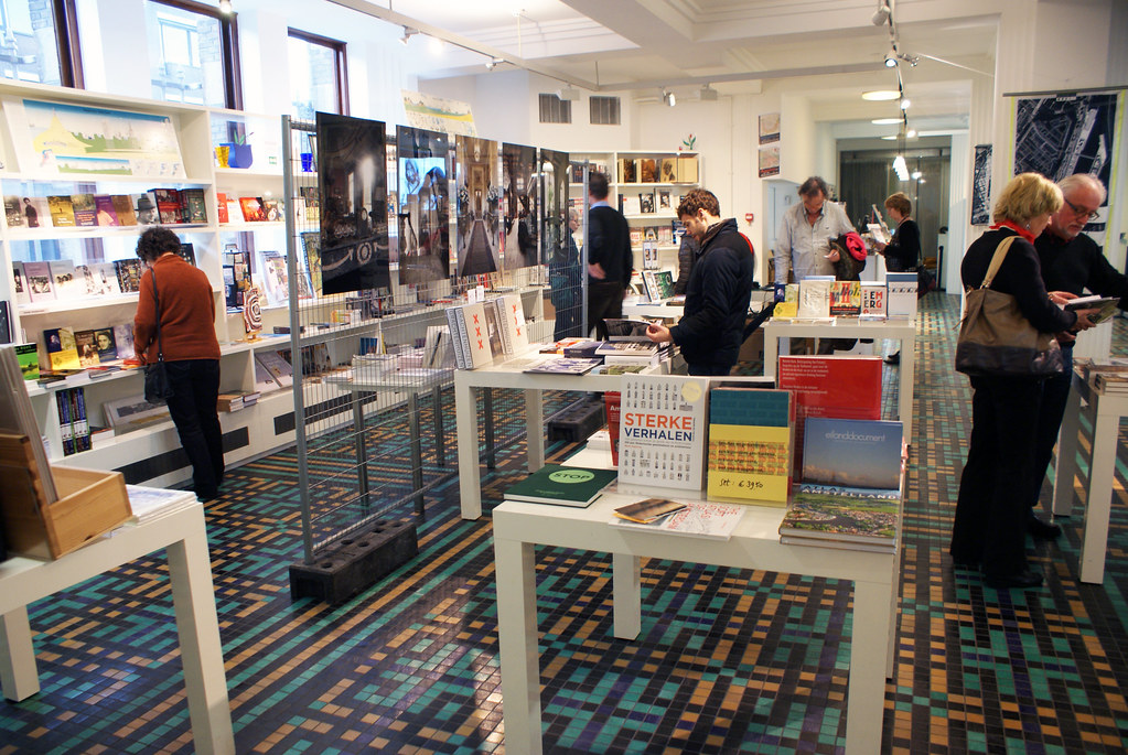 > Boutique des Archives municipales d'Amsterdam.