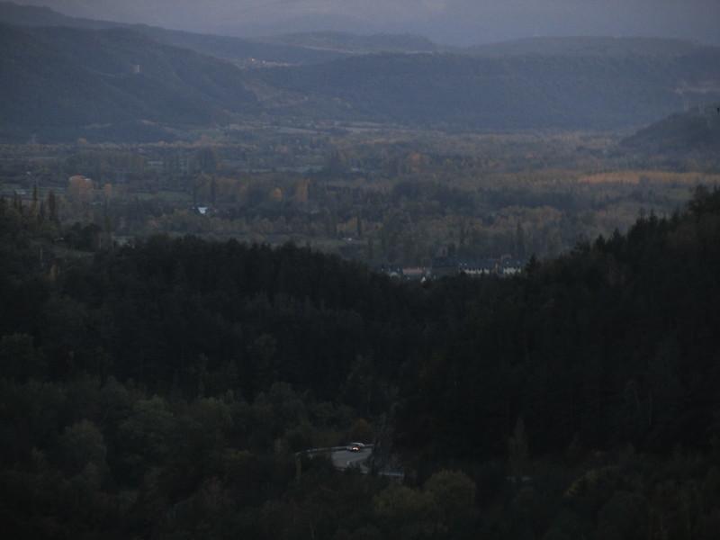 El valle desde arriba