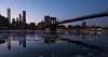 Frozen New York Harbour