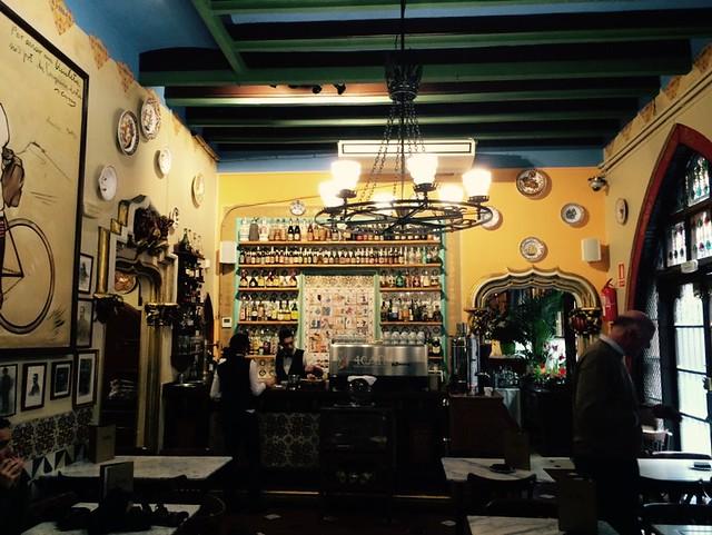 西班牙 巴塞隆納 四隻貓餐廳 4Gats Barcelona Spain