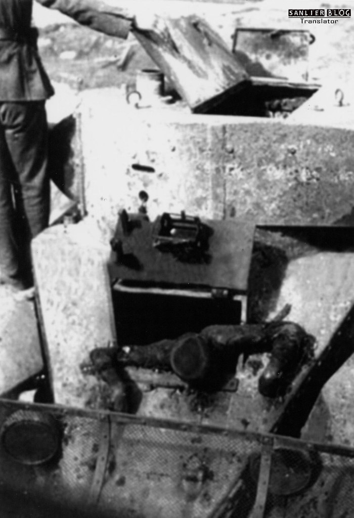 坦克战:活活烧死05