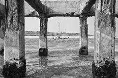 Ennore port from Thalankuppam pier