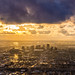 Downtown Phoenix Sunset and Clouds by jerryfergusonphotography