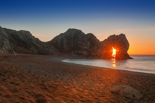 door winter england sunrise lens landscape colours bright coastal dorset flare coastline purbeck durdle landform