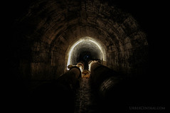 Old Dam Tunnels, Wellington, New Zealand