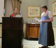 Kampmann Bermania swearing-in ceremony