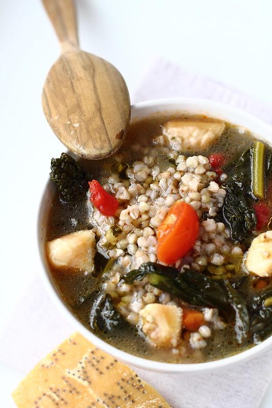 zuppa cime rapa