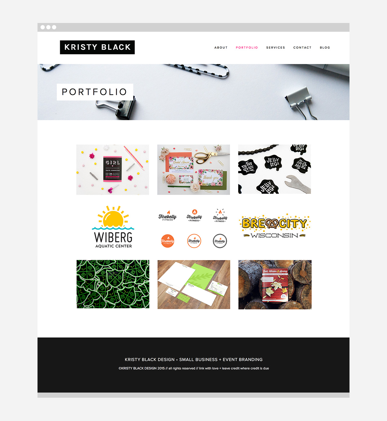 Kristy Black Design New Website Launch!